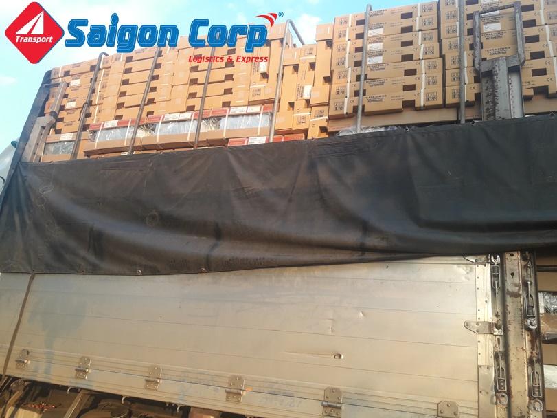 Vận chuyển hàng hóa đi Đà Nẵng bằng xe tải