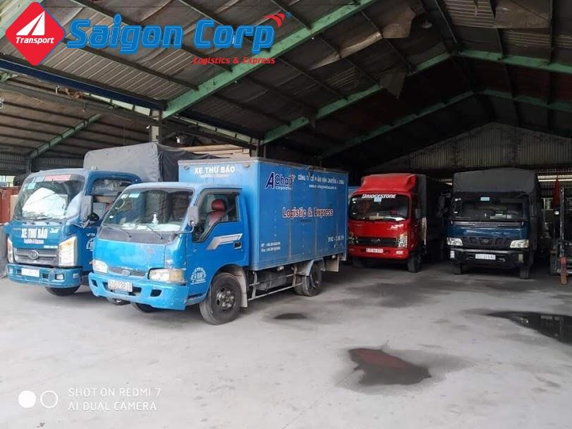 Vận chuyển hàng hóa bằng xe tải Bắc Nam