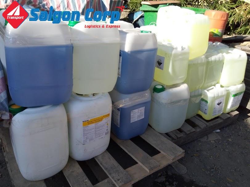Vận chuyển hàng hóa chất đi Bắc Nam an toàn