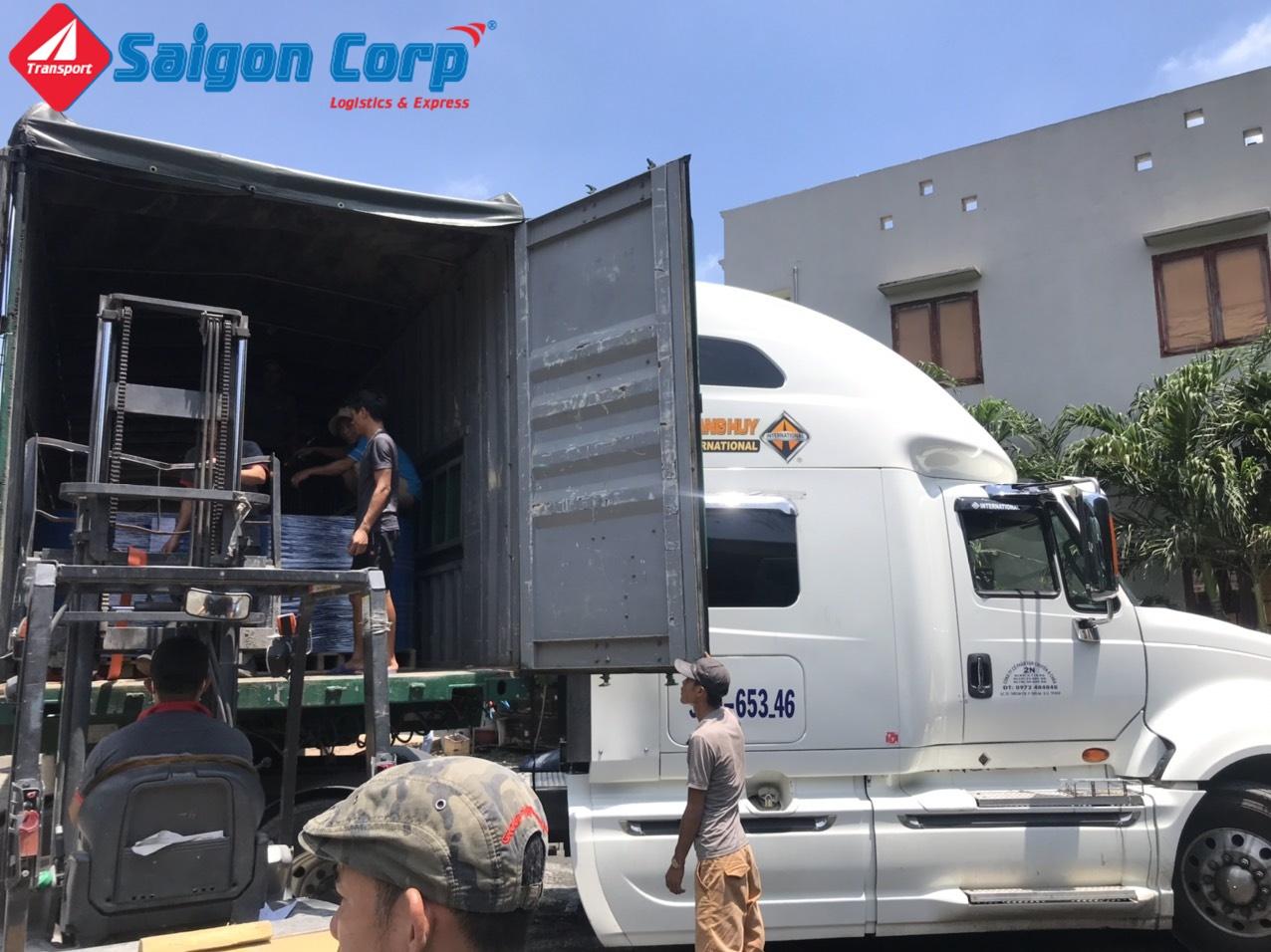 Chở hàng Sài Gòn đi Đà Nẵng