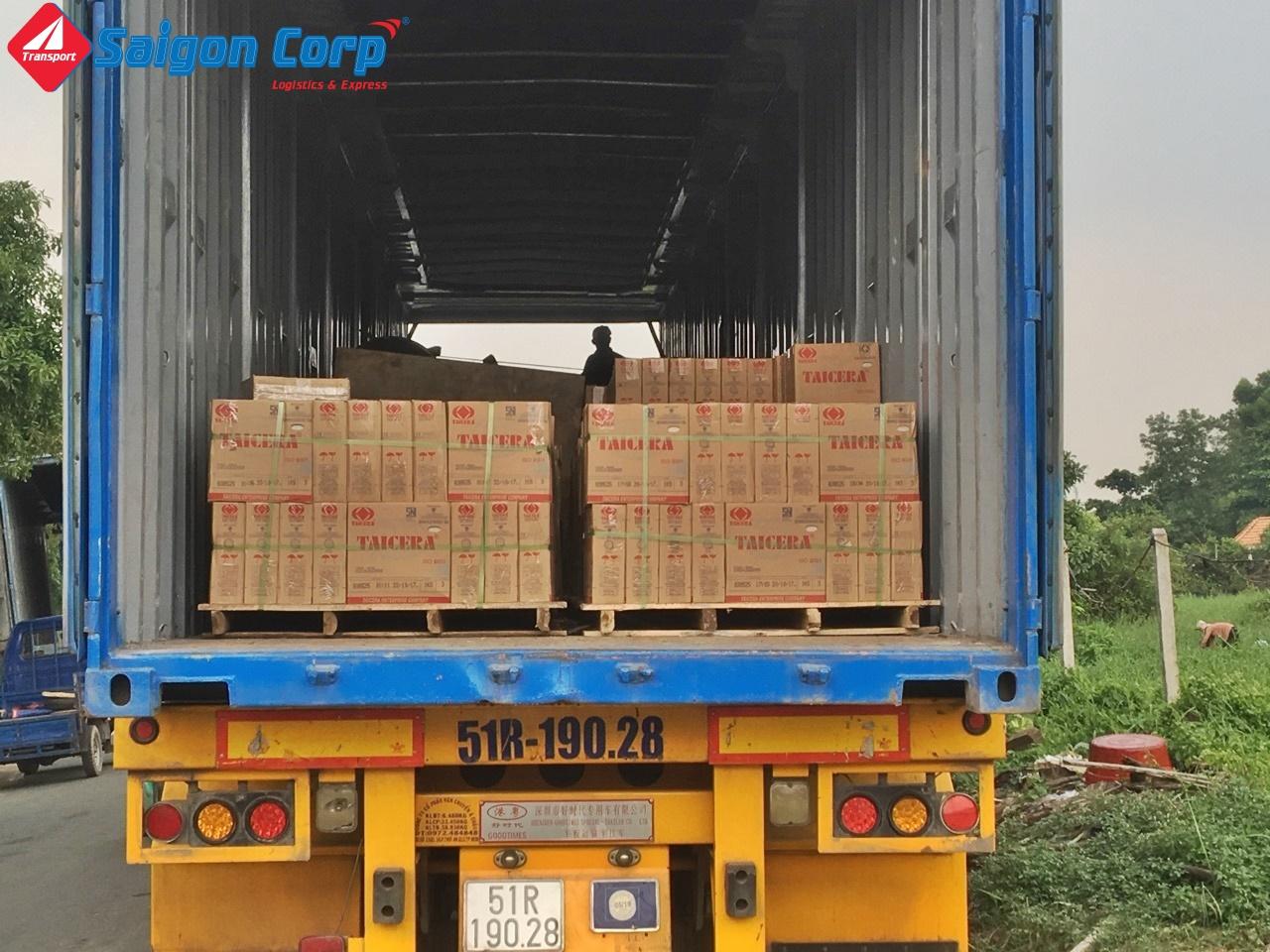 Vận chuyển hàng Hà Nội Sài Gòn