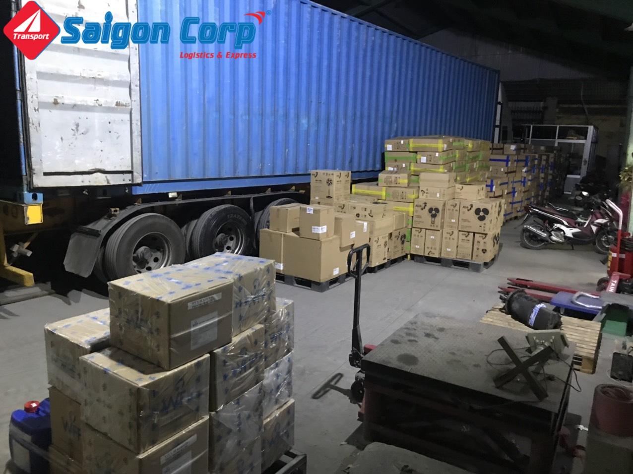 Vận tải hàng di KCN Hòa Bình