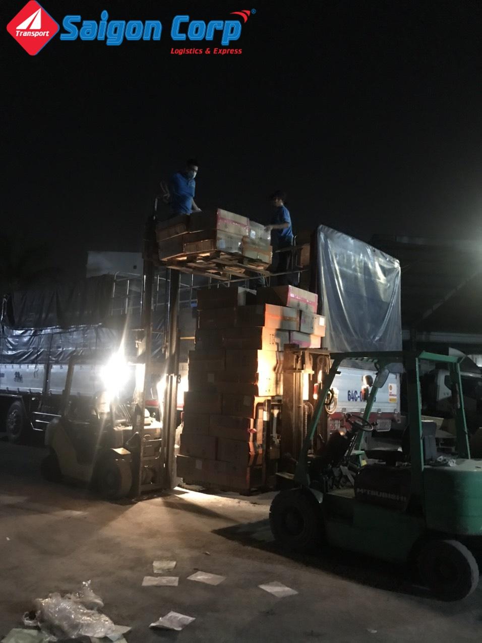 Chở hàng đi KCN Bình Thuận