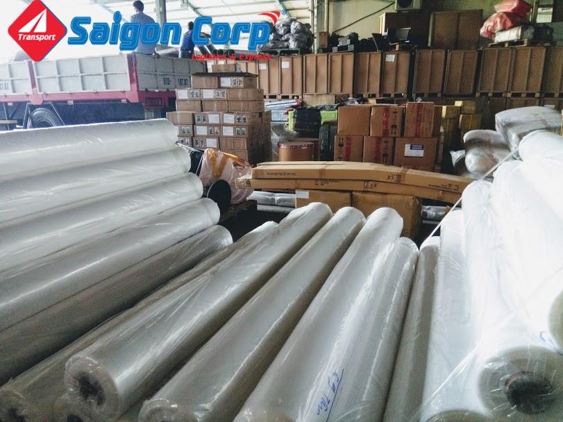 Chở hàng hóa đi KCN Quảng Ngãi