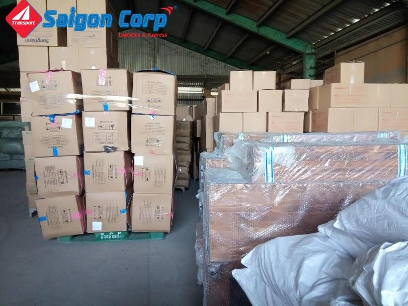 Chở hàng hóa đi KCN Tây Ninh