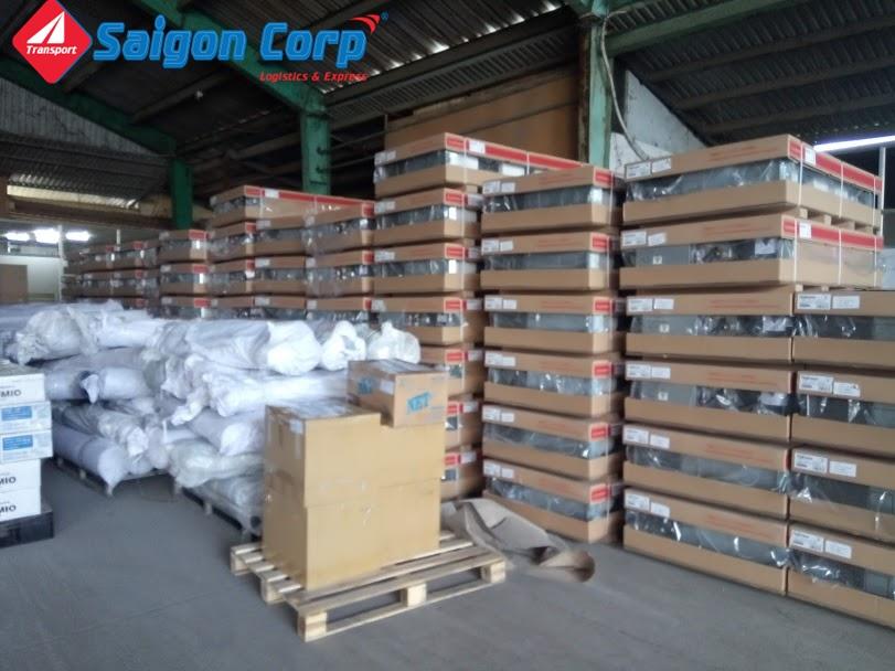 Vận chuyển hàng hóa đi KCN Long An