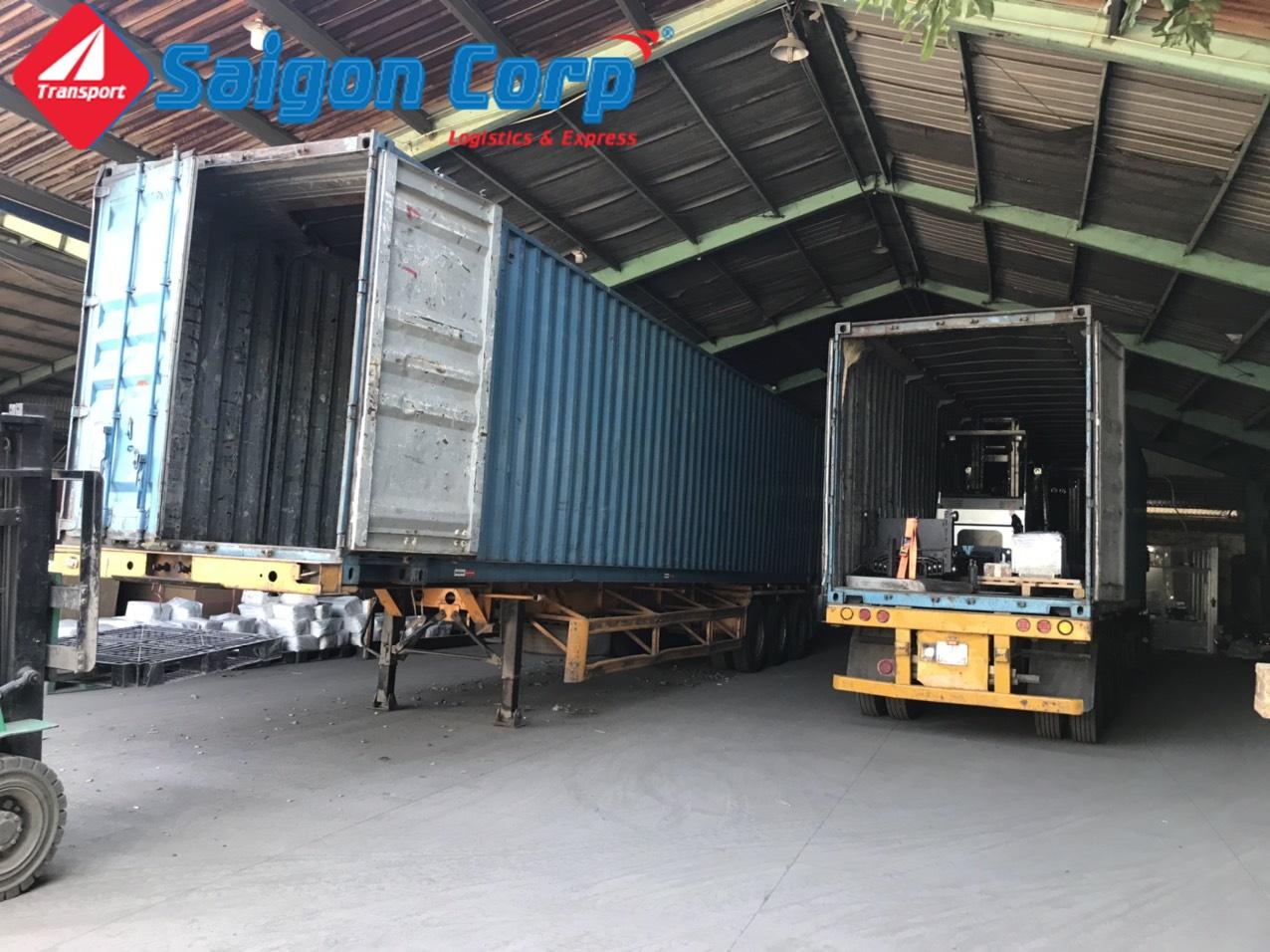 Vận chuyển hàng đi KCN Nghệ An