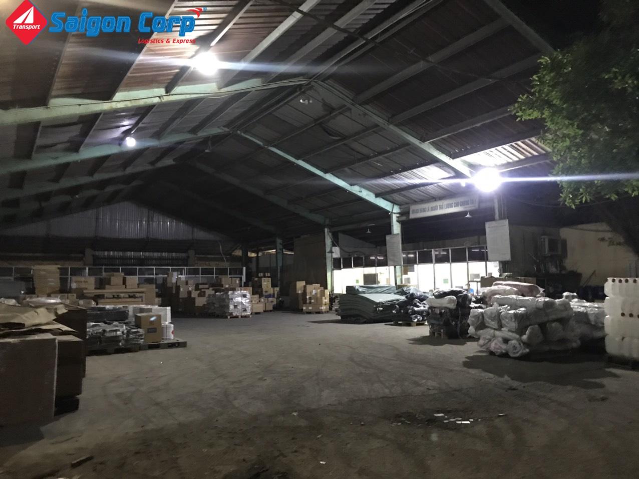 Vận chuyển hàng hóa đi KCN Tp.HCM