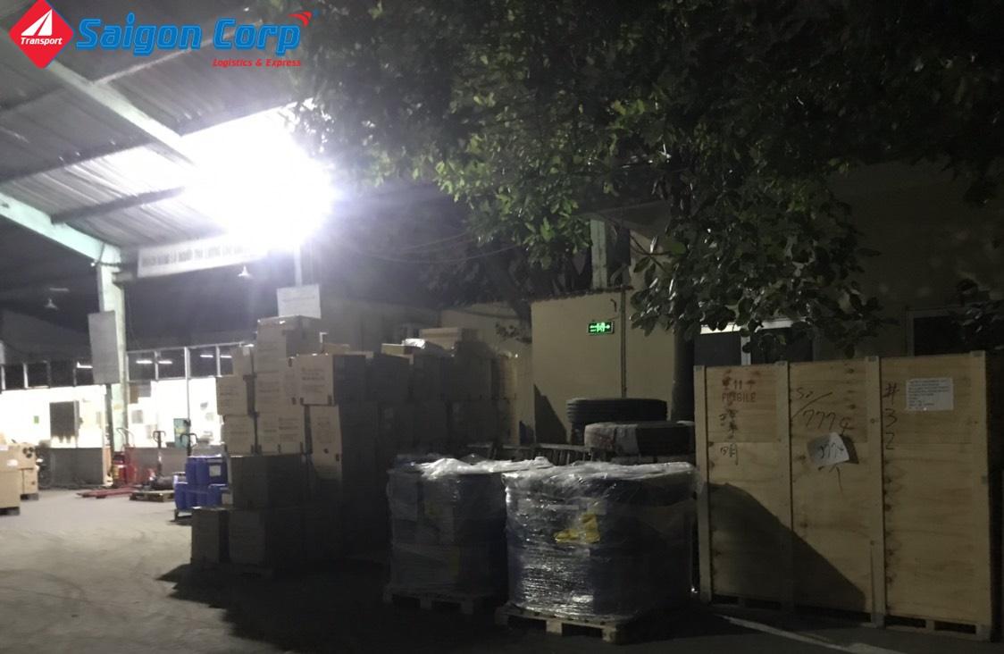 Vận chuyển hàng đi KCN Vũng Tàu