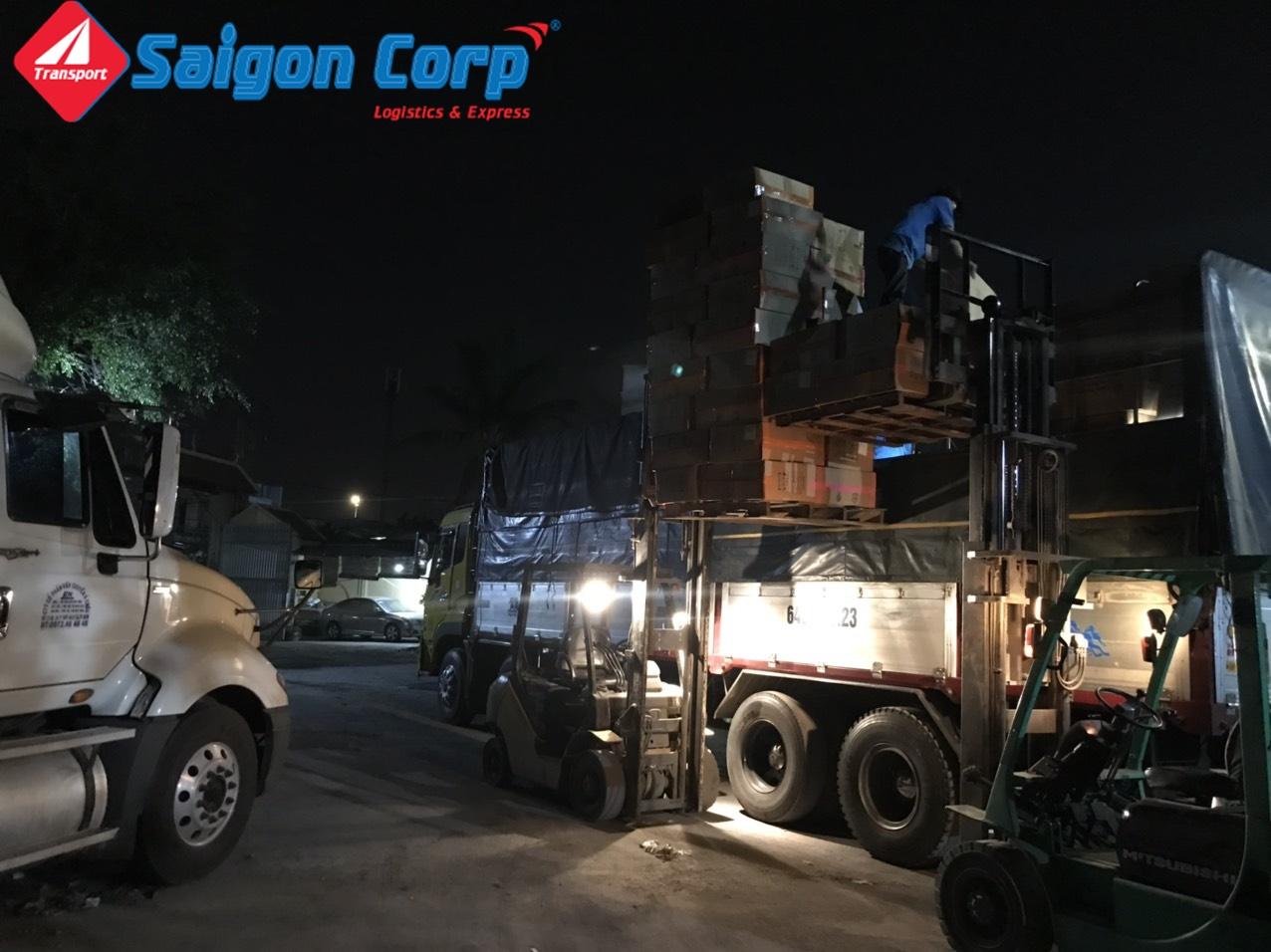 Vận tải hàng đi KCN Đồng Nai