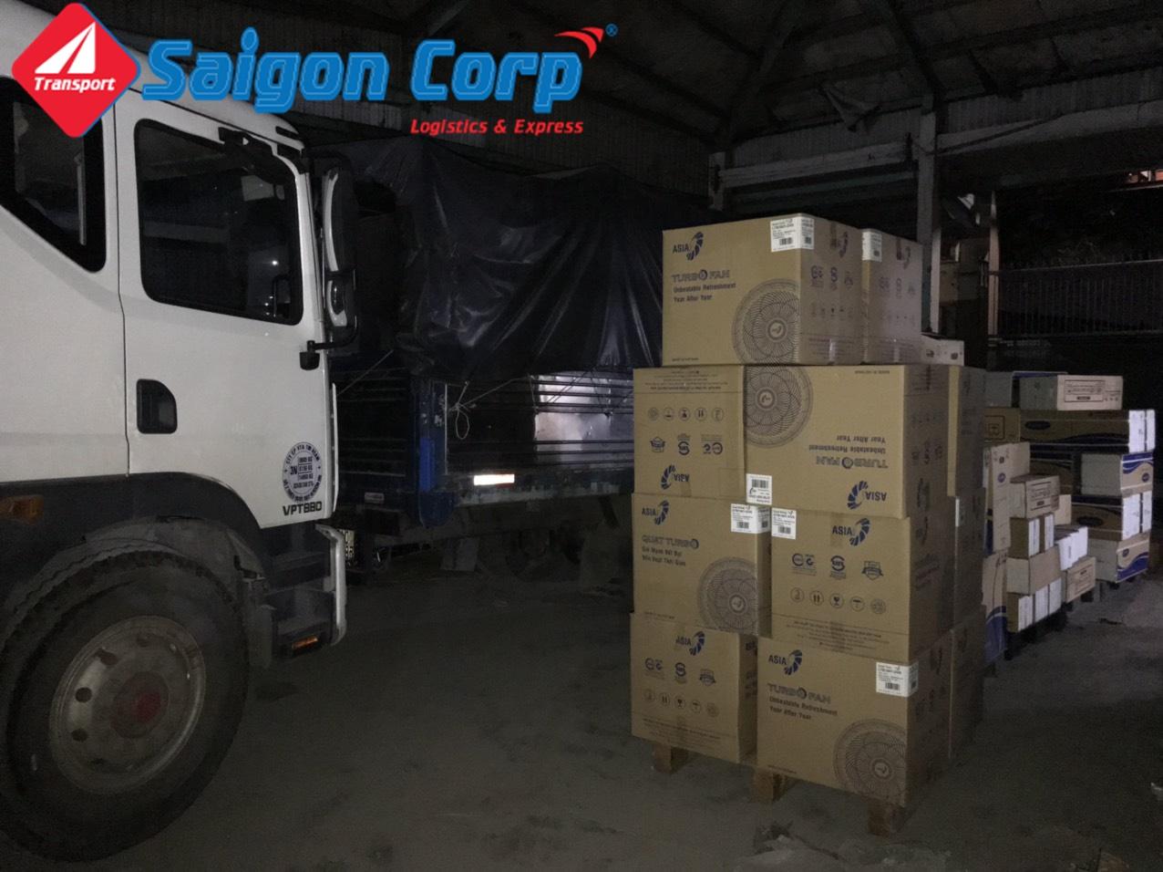 Vận tải hàng đi KCN Nghệ An